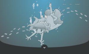htmlテンプレート「深海」